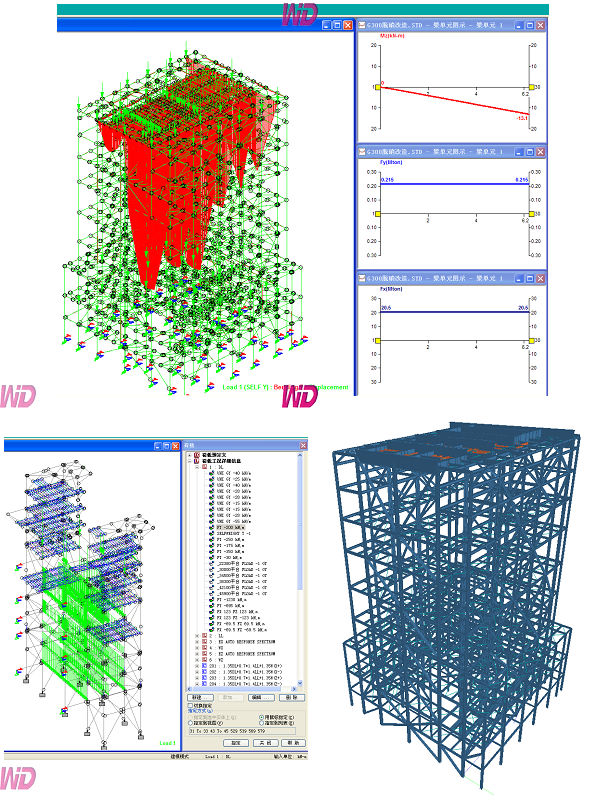 钢结构设计软件培训 staad/china